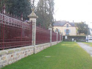 ASMR rénovation grille du jardin des plantes de Vitré
